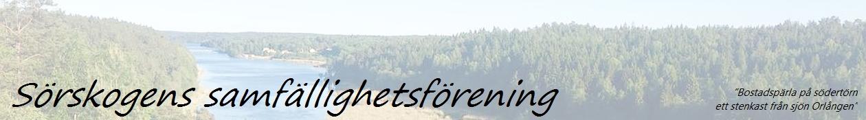 Sörskogens Samfällighetsförening